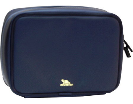 RIVACASE 1900 Low-Resilience Polyurethane Antishock Case for 2.5 Inch HDD, Black (1900-BLACK-019002)