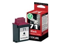 Lexmark Cartridge No. 71 - Print cartridge - 1 x black