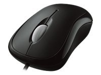 Microsoft Basic Optical Mouse for Business - Mouse - optical - 3 button(s) - wired - PS/2, USB - bla