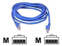 Belkin - Patch cable - RJ-45 (M) - RJ-45 (M) - 2 m - UTP - ( CAT 5e ) - blue
