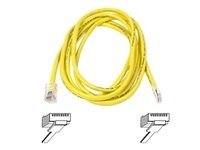 Belkin High Performance - Patch cable - RJ-45 (M) - RJ-45 (M) - 5 m - UTP - ( CAT 6 ) - molded, snag