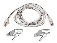Belkin High Performance - Patch cable - RJ-45 (M) - RJ-45 (M) - 50 cm - UTP - ( CAT 6 ) - molded, sn
