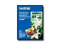 Brother BP 60MA Matte Inkjet Paper - Matte paper - A4 (210 x 297 mm) - 145 g/m2 - 25 sheet(s)