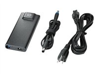 HP Slim - Power adapter - AC 100-240 V - 90 Watt - United Kingdom - for HP 43X, 63X; EliteBook 25XX,