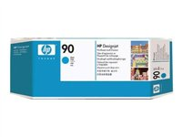 HP 90 - Printhead with cleaner - 1 x cyan