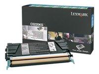 Lexmark - Toner cartridge - 1 x black - 4000 pages - LRP