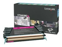 Lexmark - Toner cartridge - High Yield - 1 x magenta - 10000 pages - LCCP, LRP