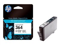 HP 364 - Print cartridge - 1 x photo black - 130 pages - for Photosmart 55XX B111, 6510 B211, Premiu