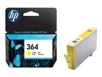 HP 364 - Print cartridge - 1 x yellow - 300 pages - for Photosmart 55XX B111, 6510 B211, Plus B209,