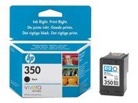 HP 350 - Print cartridge - 1 x black