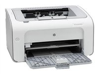 HP LaserJet Pro P1102 - Printer - B/W - laser - A4 - 1200 dpi x 1200 dpi - up to 18 ppm - capacity:
