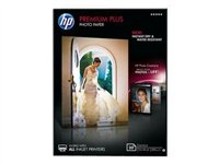 HP Premium Plus Photo Paper - Glossy photo paper - 130 x 180 mm - 300 g/m2 - 20 sheet(s)