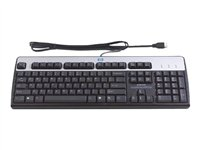 HP Standard Keyboard - Keyboard - USB - English - United Kingdom - promo