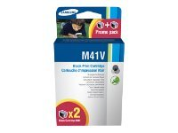 Samsung INK M41V - Print cartridge - 2 x black - 750 pages