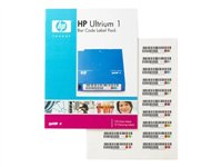HP Ultrium 1 Bar Code Label Pack - Bar code labels