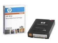 HP RDX - RDX - 500 GB / 1 TB - storage media
