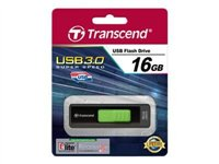 Transcend JetFlash 760 - USB flash drive - 16 GB - USB 3.0 - elegant black