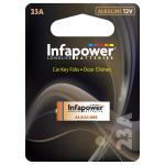 INFAPOWER 23A Alkaline Battery, 12v (L909)
