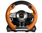 SPEEDLINK Drift O.Z. Racing Wheel with Pedals and Gear Stick for PS3, Black/Orange (SL-4495-BKOR)
