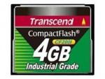 Transcend CF200I Industrial Grade - Flash memory card - 4 GB - CompactFlash